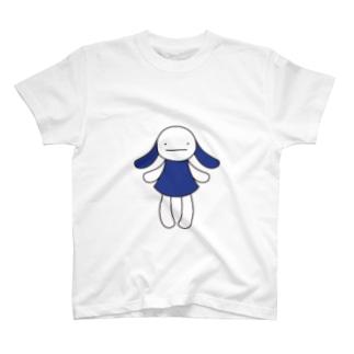 青 Tシャツ