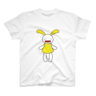 黄色 Tシャツ