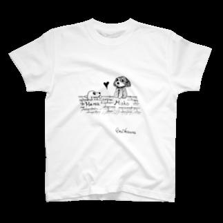 さしすせそ研究室のERIKAWA(田中さん)Tシャツ