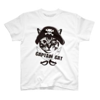 Nobigao 海賊猫 Tシャツ