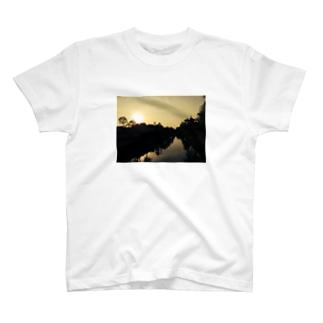 夕陽 Tシャツ
