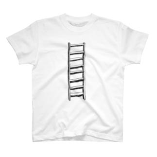 はしご(あさ) Tシャツ