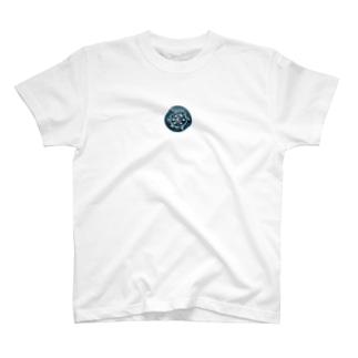 Sea and Land(テキスト無) Tシャツ