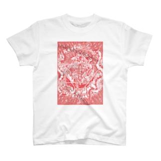 召喚 レッド Tシャツ