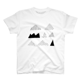いろんな山 Tシャツ