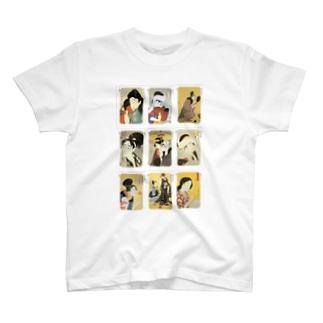 歌麿B Tシャツ