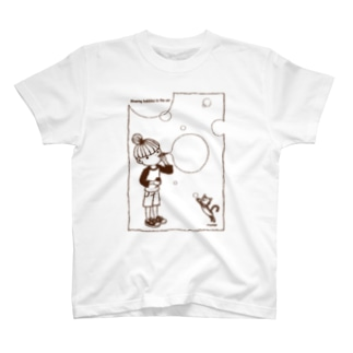 Blowing bubbles T-shirts