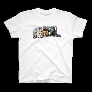 tocaiのBRASIL no.6 Tシャツ