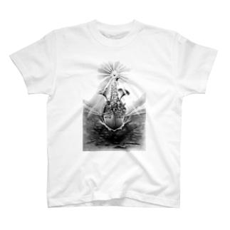 ヤノベケンジ《トらやんの大冒険》(太陽の復活) Tシャツ