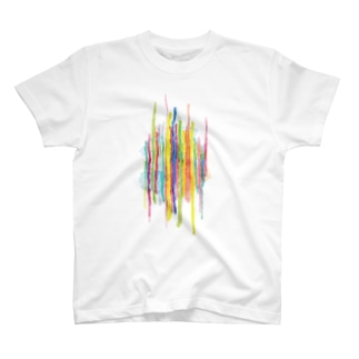 カラーライン Tee T-shirts