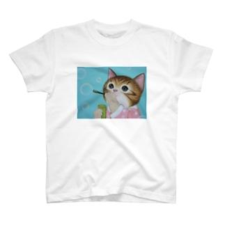 しゃぼん玉遊び T-shirts