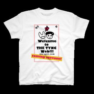 Kekyo & Yoritan RECORDSのTHE TYNC [Coming Soon ! - ROSE2]  Tシャツ