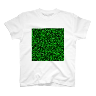 Game of Life(Black&Green)_01 Tシャツ