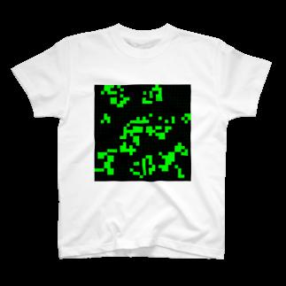 レオナのGame of Life(Black&Green)_03 T-shirts