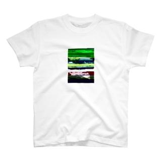 Glitch(Stream) Tシャツ