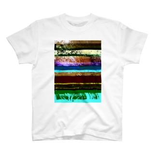 Glitch(Maidenhair Tree) Tシャツ