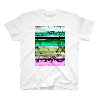 Glitch(SAKURA) Tシャツ