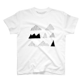 いろんな山 T-shirts