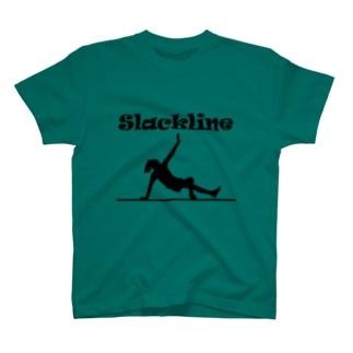 スラックライン(ガンビット) Tシャツ