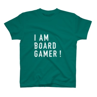 I AM BOARD GAMER(BIG) Tシャツ