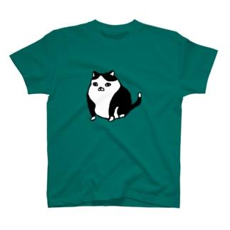 例の猫まんなか Tシャツ