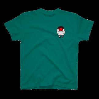文鳥堂のノーマル文鳥 Tシャツ