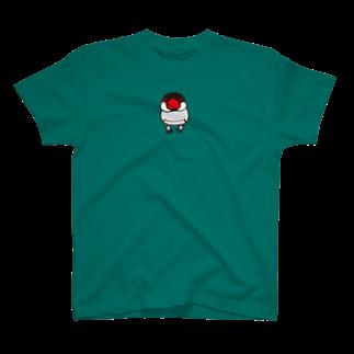 文鳥堂のノーマル文鳥Tシャツ