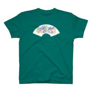 お祭りだワン Tシャツ