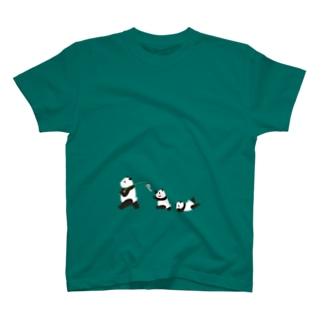 風鈴パンダ Tシャツ