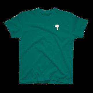 仙台弁こけしの仙台弁こけし(キュッキュッキュッ)Tシャツ