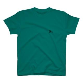 ヤモリは家のお守りです Tシャツ