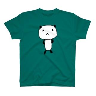 えっへんパンダさん Tシャツ