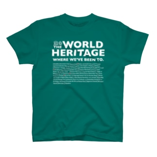 THE WORLD HERITAGE WHERE WE'VE BEEN TO(2) Tシャツ