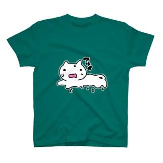 とけねこ Tシャツ