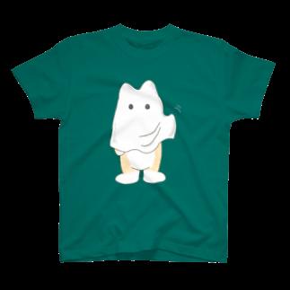柴犬ポンのobakeTシャツ
