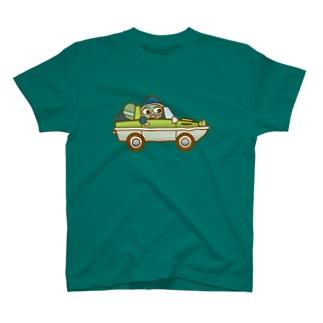 ウズシオくん水陸両用車 Tシャツ