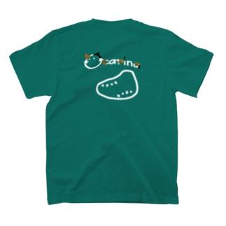おかりにゃ茶黒 T-shirts