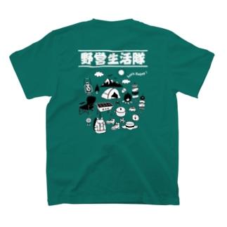 キャンプ用Tシャツ T-shirts