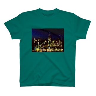 工場moe!(夜空) T-shirts