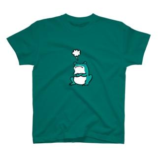 カエルは考える T-shirts