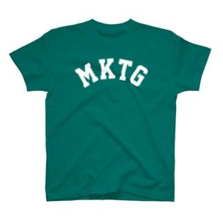 MKTG(白) T-shirts