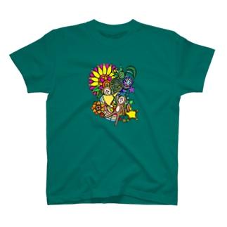 ポンヌフとプーヤンとホルン T-shirts