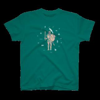 ヘルミッペ_hermippeの浮かれナイト Tシャツ