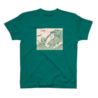 空を駆ける その二 T-shirts