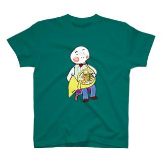 ホルン・オヤジ T-shirts