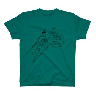すーぱーまん T-shirts