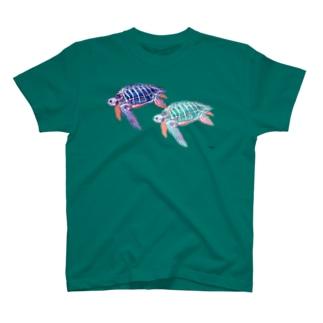 オサガメ2 T-shirts