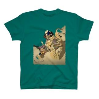 新形三十六怪撰 内裏に猪早太鵺を刺図 T-shirts