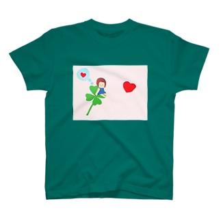 よつばの女の子 T-shirts