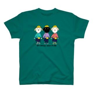 なんとか三姉妹 T-shirts